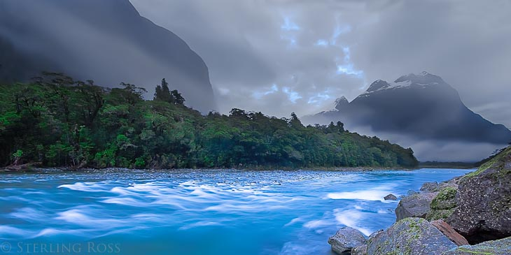 The River of Life Flows from a Single Source - Milford Sound, New Zealand