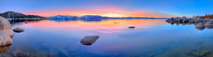 Sterling Ross Presents: The Setting of a Clear Intention - Fine Art Photography of South Lake Tahoe