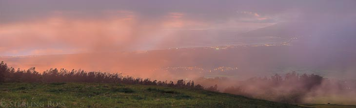 UpCountry - Sunset Photography from Haleakla, Maui, Hawaii